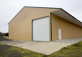 Our large storage facility